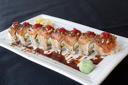 Thunder roll at Sushi Neko (Garett Fisbeck)