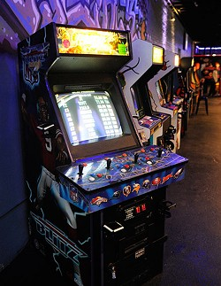 FlashBack RetroPub, which mixes a bar with an arcade, opened at 814 W. Sheridan Ave., Suite A, in Film Row in 2015 as one of the first bars in the up-and-coming district. (Garett Fisbeck / file)