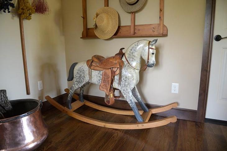 Wilson Rocking Horses in Luther, Wednesday, June 21, 2017. - GARETT FISBECK