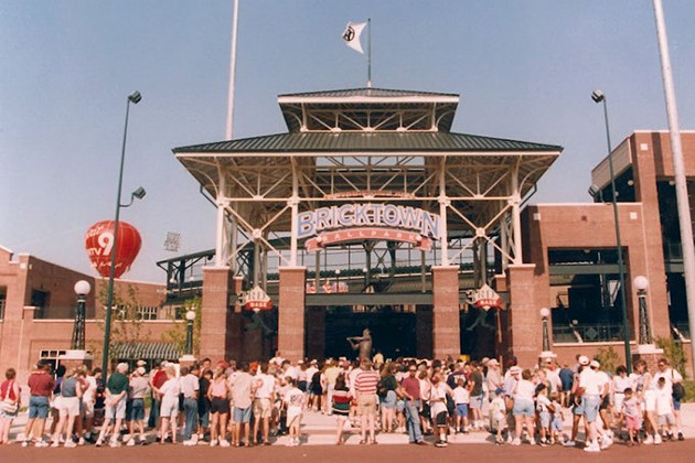 As the city recovered from the oil bust of the '80s and the 1995 Oklahoma City bombing, Bricktown Ballpark drew crowds —and hope — as it spawned urban renewal as the first completed MAPS project downtown. (Oklahoma City Dodgers / provided / file)