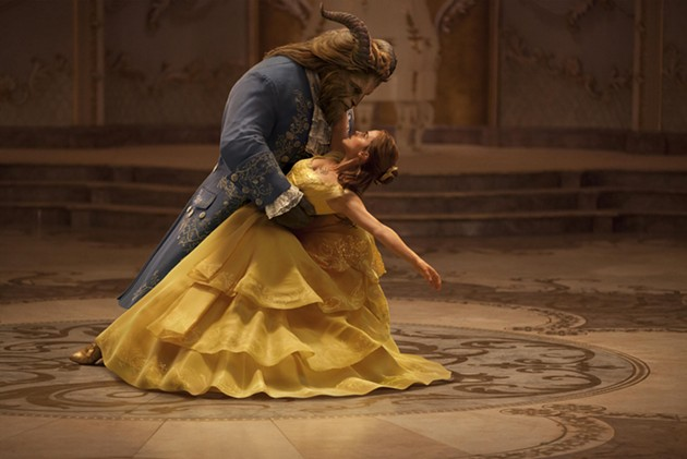 Emma Watson stars as Belle and Dan Stevens as the Beast in Disney's BEAUTY AND THE BEAST, a live-action adaptation of the studio's animated classic directed by Bill Condon. - COURTESY OF DISNEY