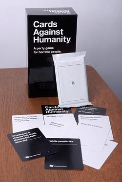 Cards Against Humanity. - GARETT FISBECK