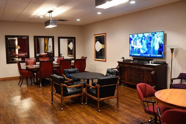 Lounge at OKC Cellar, Monday, June 6, 2016. - GARETT FISBECK
