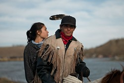 Photos from Standing Rock tribal protests at Standing Rock Sioux Indian Reservation in North Dakota. Taken week of Nov. 1 2016. MANDATORY CREDIT Wade Dunstan / for Oklahoma Gazette —NO ARCHIVE, ONE-TIME USE ONLY FOR 11.16 OKLAHOMA GAZETTE - WADE DUNSTAN / DAVID CLEELAND