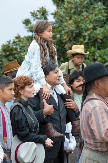 Te Ata tells the story of Mary Frances Thompson, who was born in Emet and graduated from Tishomingo High School and went on to become an actress who told stories around the world. (Chickasaw Nation / provided)