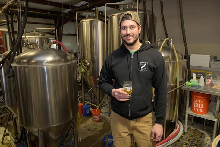 Roughtail Brewing Co. head brewer Tony Tielli (Garett Fisbeck / file)