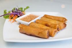 Thai House serves Thai fried spring rolls on Monday June 27, 2016 in Oklahoma City. - EMMY VERDIN