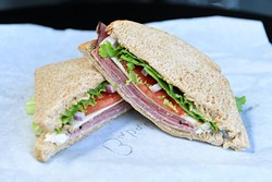 Bababooey at the Sandwich Club, Monday, July 18, 2018. - GARETT FISBECK