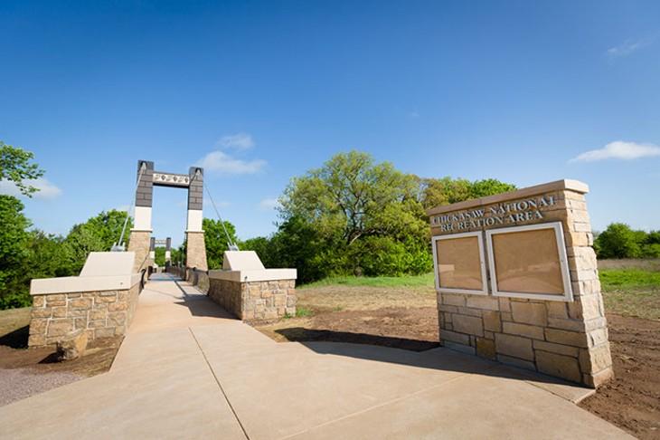 Rock Creek Bridge - Chickasaw Cultural Center/Chickasaw National Recreation Area - Sulphur, OK - 18 April 2017 - Photographer: Jacquelyn Sparks