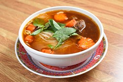 Hu Tieu Bo Kho at Lang's Bakery, Monday, May 9, 2016. - GARETT FISBECK