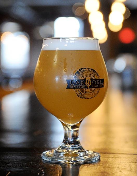 A beer at Oak and Ore in Oklahoma City, Monday, Nov. 30, 2015. - GARETT FISBECK