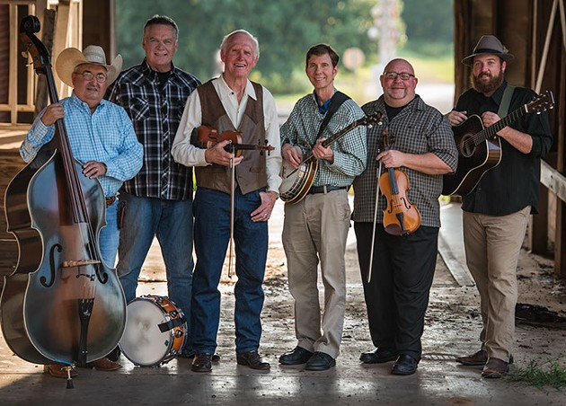 Byron Berline Band plays at 2017's Oklahoma International Bluegrass Festival.   Photo Tom Dunning / provided