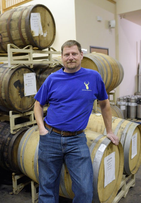 John Elkins at Elk Valley Brewing Company (Garett Fisbeck)