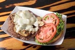 The Porta-Swiss at Right-A-Way Burger in Edmond, Thursday, Aug. 18, 2016. - GARETT FISBECK