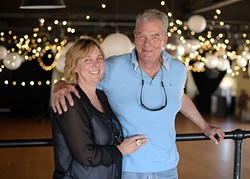 Jody and Burt McAnally poses for a photo at the Farmer's Public Market, Monday, April 3, 2017. - GARETT FISBECK