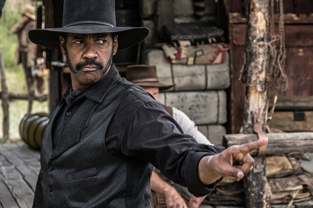 Denzel Washington stars in Metro-Goldwyn-Mayer Pictures and Columbia Pictures' THE MAGNIFICENT SEVEN. - SCOTT GARFIELD
