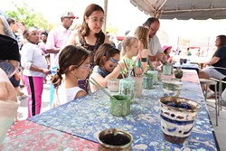 """The festival offers creative experiences for the entire family and features several youth-friendly make-and-take opportunities. 