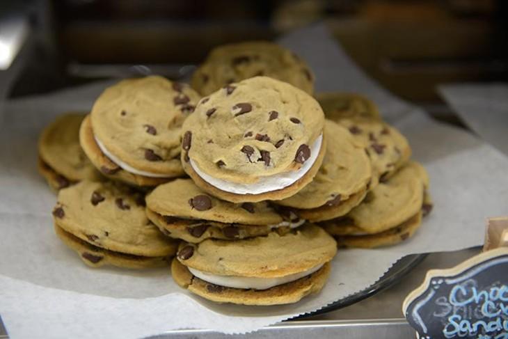 Baked goods at Rosebeary's Bakery Thursday, Aug. 17, 2017. - GARETT FISBECK