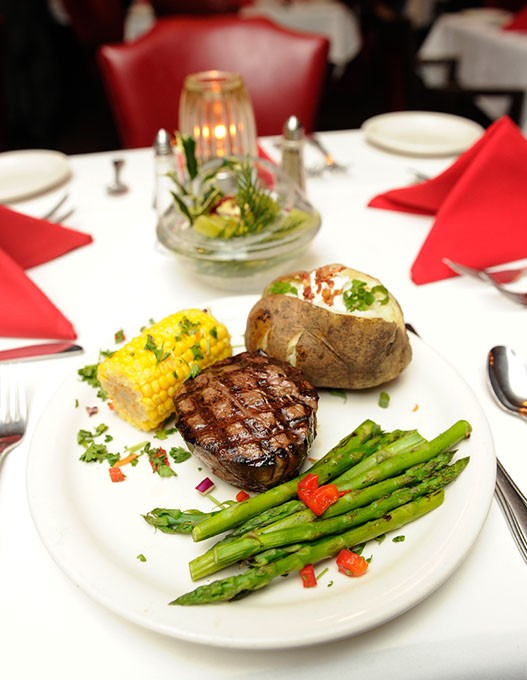 8 oz. filet at Junior's in Oklahoma City, Friday, Dec. 18, 2015. - GARETT FISBECK