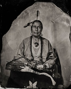 Casey Camp-Horinek, Citizen of Ponca Tribe of Oklahoma (Will Wilson / Fred Jones Jr. Museum of Art / provided)