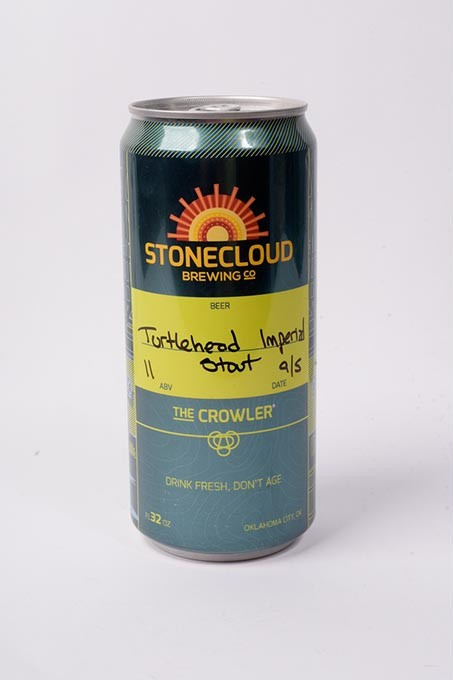 Stonecloud Brewing Co turtlehead Imperal Stout for Fall Brew Review 2017. - GARETT FISBECK