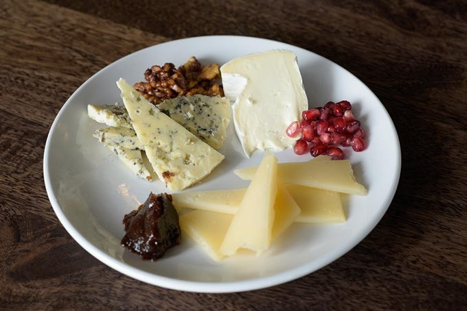 Cheese plate at The Pritchard, Wednesday, March 22, 2017. - GARETT FISBECK