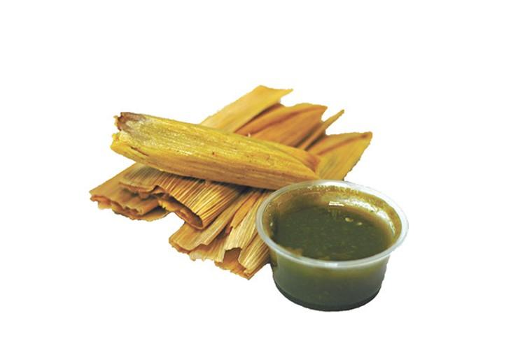 """Clarissa """"Cid"""" Castillo's fresh-made tamales (Greg Elwell)"""
