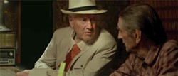 from left David Lynch and Harry Dean Stanton star in Lucky, which screens at Sooner Theatre as part of the first Norman Film Festival. (Norman Film Festival / provided)
