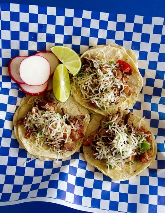 Tacos at Hugo's Taquizas. - KEATON DRAPER