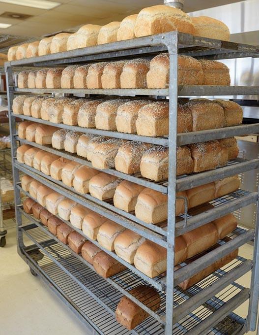 Fresh bread at Big Sky Bread in Oklahoma City, Thursday, Aug. 11, 2016. - GARETT FISBECK