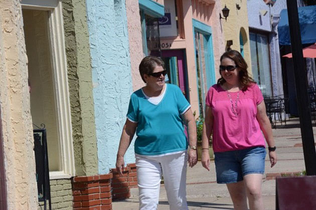 Sandra Davis, Shelly Stillwell's mother, said she's happy with the results of her daughter's bariatric surgery. | (Terre Cooke Chaffin / for the Gazette)