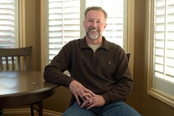 Kirk Morrison poses for a photo at his home in Edmond, Friday, Feb. 3, 2017. - GARETT FISBECK