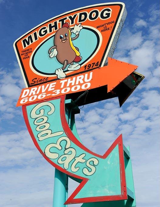 Mighty Dog in Oklahoma City, Thursday, Jan. 29, 2015. - GARETT FISBECK