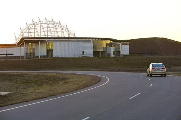 The American Indian Cultural Center and Museum will now resume construction under an agreement reached by the City of Oklahoma City, the State of Oklahoma and the Chickasaw Nation. The museum is expected to open during the spring of 2021.   Photo Gazette / file