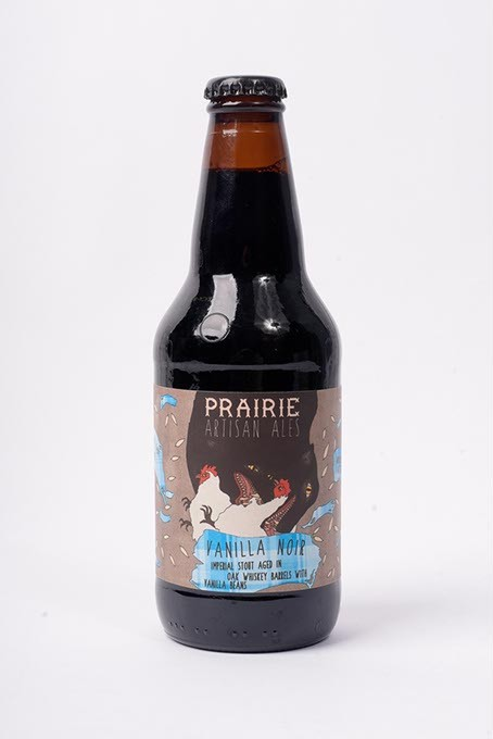 Prairie Vanilla Noir Imperial Stout for Fall Brew Review 2017. - GARETT FISBECK