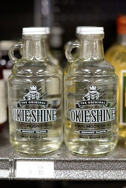 Okie Shine at Byron's Liquor in Oklahoma City, Monday, July 25, 2016. - GARETT FISBECK