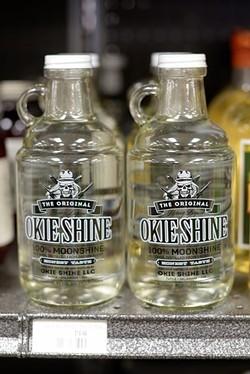 Okie Shine at Byron's Liquor in Oklahoma City, Monday, July 25, 2016. - GARETT FISBECK