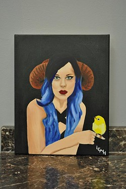 Leah Cottrill's art is featured in Women of the Ages Art Show at The Ink Hub Tattoos and Fine Art. (Leah Cottrill / provided)