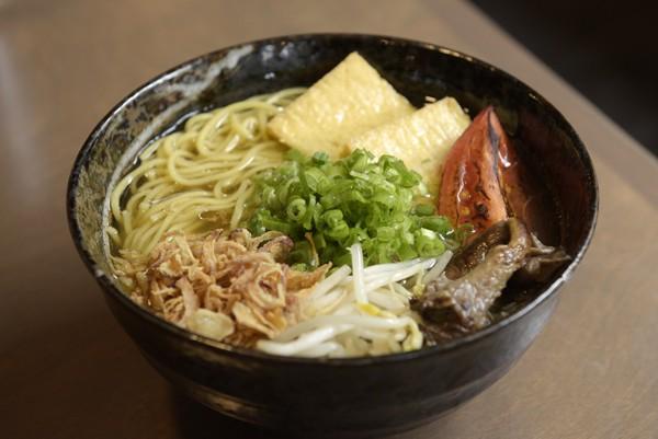 Gor? Ramen + Izakaya's yasai ramen | Photo Garett Fisbeck