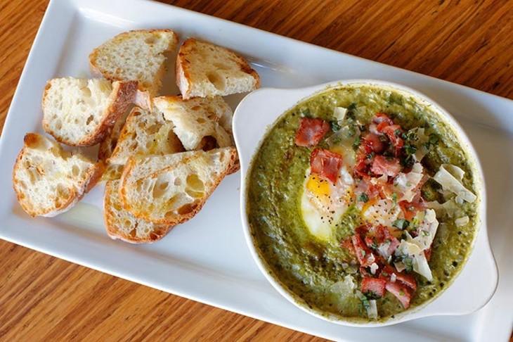 Green Eggs and Ham at Stella, Thursday, March 30, 2017. - GARETT FISBECK