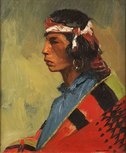 "Robert Henri's ""Tesuque Buck,"" ca. 1916 (Photo Oklahoma City Museum of Art / Gift of the Kirkpatrick Foundation / Provided)"