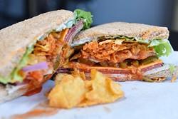 After School Special at the Sandwich Club, Monday, July 18, 2018. - GARETT FISBECK