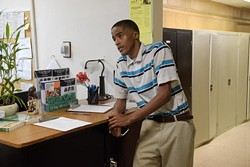 Savon Knight, a Douglass High School student, benefits from Oklahoma City Public Schools' homeless program, which has provided him with uniforms, supplies, backpacks and bus passes. (Garett Fisbeck)