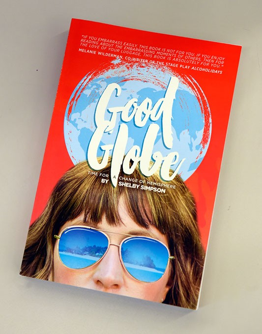 Good Globe by Shelby Simpson at Southwest Oklahoma City Public Library in Moore, Monday, May 2, 2016. - GARETT FISBECK