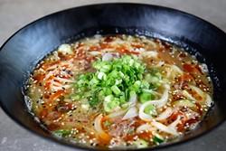 Oxtail Soup at Chae Modern Korean, Wednesday, May 11, 2016. - GARETT FISBECK