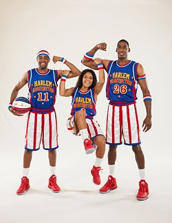 Cheese Chisholm, Ace Jackson and Hi-Lite Bruton | Photo The Original Harlem Globetrotters / provided