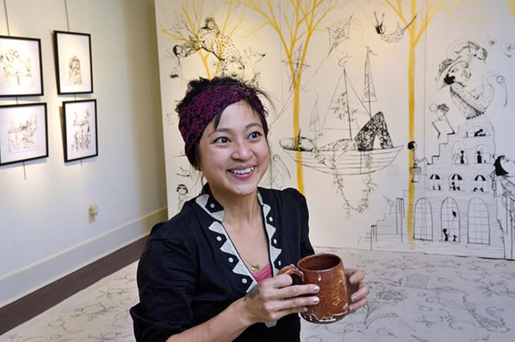 Local artist Denise Duong (Gazette / file)