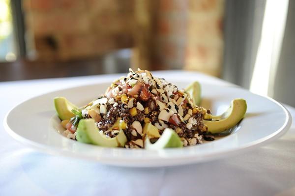 Cheever's Cafe quinoa avocado salad | Photo Garett Fisbeck
