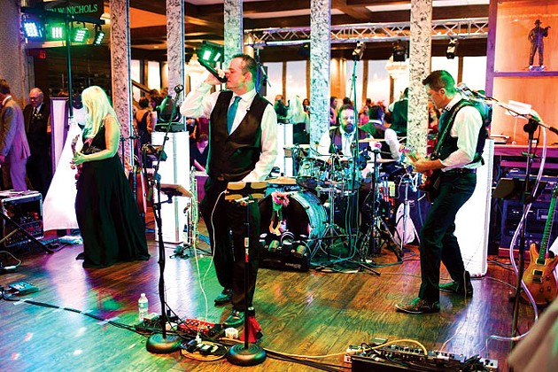 Okie Tonk Cafe's New Year's Eve Bash features cover band Life of the Party. | Photo Jessica Elle Photography /provided