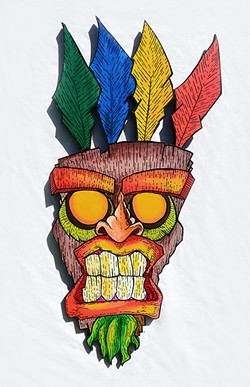 """OogaBooga Mask"" by DJ Labay 